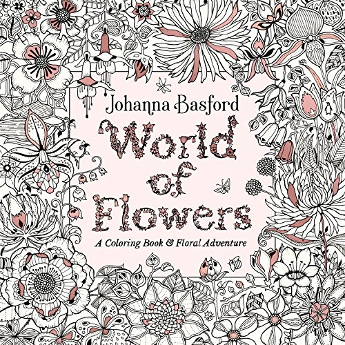 World Of Flowers por Johanna Basford