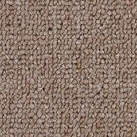 verschiedene L/ängen Teppichboden Auslegware Meterware Schlinge beige hell 400 und 500 cm breit