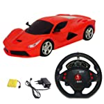 BabyBaba Rechargeable Gravity Sensor Remote Car with Steering Control(Design & Colour May Vary)