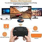 Mini tastiera retroilluminata BANFAO, mini tastiera wireless da 2,4 GHz con combinazione mouse touchpad, controller…