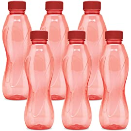 Milton Oscar Pet Set of 6, 1000 ml Bottle, Red