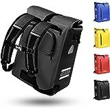 SPITZE FORGE Fahrradtasche für Gepäckträger 3in1 Geeignet als Gepäckträgertasche, Rucksack und Umhängetasche 100% Wasserdicht