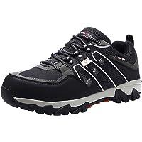 LARNMERN Chaussures de Sécurité pour Homme,LM-18 Embout en Acier Antidérapante Chaussures de Travail Respirant…