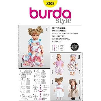 Simplicity Schnittmuster 7623 Puppe & Puppenkleidung: Amazon.de ...