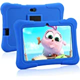 Pritom 7 Zoll Kids Tablet, Quad Core Android, 1 GB RAM + 16 GB ROM, WiFi, Bluetooth, Dual Camera, Schulung, Spiele…