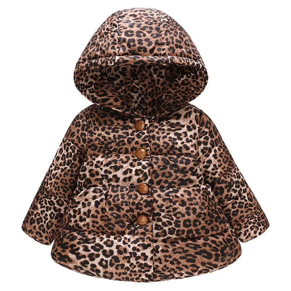 Kobay Baby Unisex Coat,Toddler Baby Girl Boy Cartoon Car Print Winter Warm Jacket Hooded Windproof Top Suit for 1-6 Years