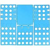 Relaxdays tvättfodral 3. Generation, hopfällbar, 68 x 57 cm, vikbar bräda för skjortor, skjortor, skjortor, flexibel, flip, v