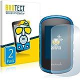 BROTECT 2X Entspiegelungs-Schutzfolie kompatibel mit Garmin eTrex Touch 35 Displayschutz-Folie Matt, Anti-Reflex, Anti-Fingerprint