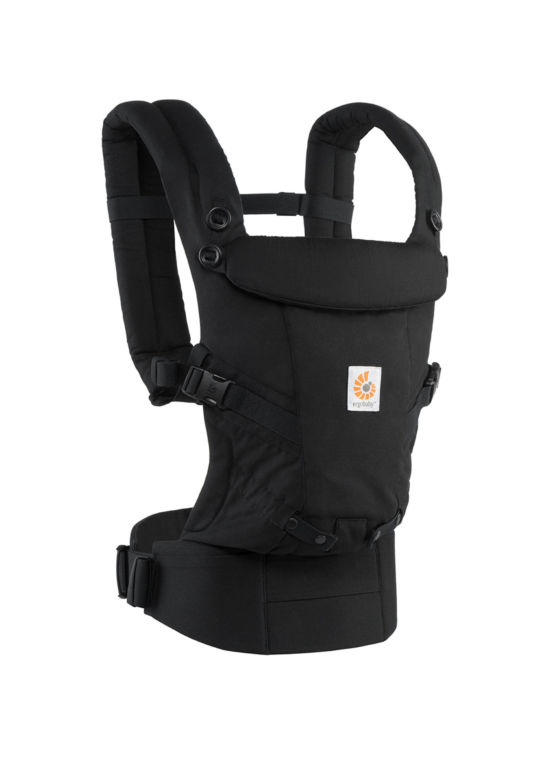ErgoBaby Adapt Baby Carrier Black Ergobaby Adapt to Every Baby Easy. Adjustable. Newborn to toddler. 3