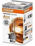 Osram XENARC ORIGINAL D2S HID Xenon-Brenner, Entladungslampe, Erstausrüsterqualität OEM, 66240, Faltschachtel (1 Stück)