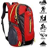 40L Sac A Dos Randonnée Léger ,Yunplus Respirant Ultraléger Imperméable ,Sac A Dos Pour Camping ,Alpinisme ,Trekking ,Voyage Sports Loisir Cyclisme