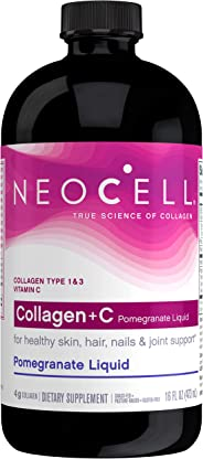 Neocell Super Collagen Plus C Pomegranate Liquid Vitamin - 16 Oz