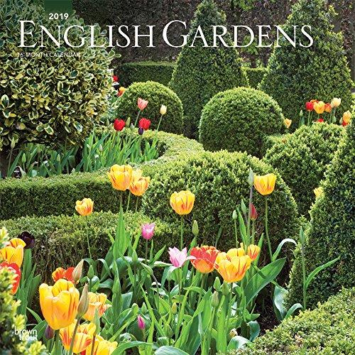 English Gardens - Englische Gärten 2019 - 18-Monatskalender: Original BrownTrout-Kalender