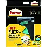 Pattex Hot Pistol lijmpistool/lijmpistool met mechanische toevoer en warmte-geïsoleerde sproeier/set met Pattex lijmpistool +