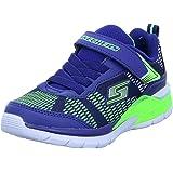 Skechers 90553N/NVLM Erupters II - Lava Wave Sneakers Junior -Luci - Scarpe di Tela
