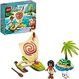 LEGO Disney Princess - Aventura Oceánica de Vaiana Juguete de Construcción Creativo de la Película, con Muñecas de Vaiana y P