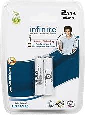 Envie 800RTU Envie Infinite Rechargeable AAA 800 Battery (White)