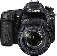 Canon EOS 80D 18-135mm IS USM Lens Kit 24.2 MP SLR Camera - Black