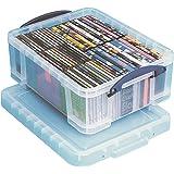 Really Useful Box Opbergdoos 18 liter, transparant duidelijk VE=1
