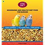 Fine Grain Fine Diet Bird Food for All Budgies Mix Seeds, 1 KG