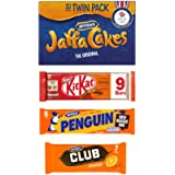 Orange Biscuit Assortment - 44 Biscuits | 20 Mcvities Jaffa cakes | 9 Nestle Orange 2 Finger Kit Kat's | 8 Mcvities…