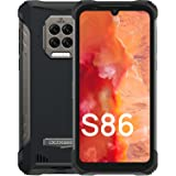DOOGEE S86 [2021] 8500mAh Batería Telefono Movil, 6GB RAM+128GB ROM IP68 IP69K Moviles Resistente Agua y Golpes, Cámara Cuádr