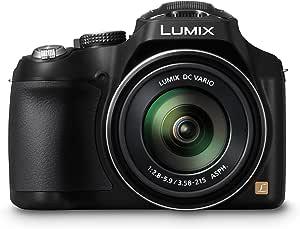 "Panasonic Lumix DMC-FZ72EF-K Appareil photo bridge Ecran 3"" (7,62 cm) 16,1 Mpix Zoom optique 60x USB Noir - Version française"