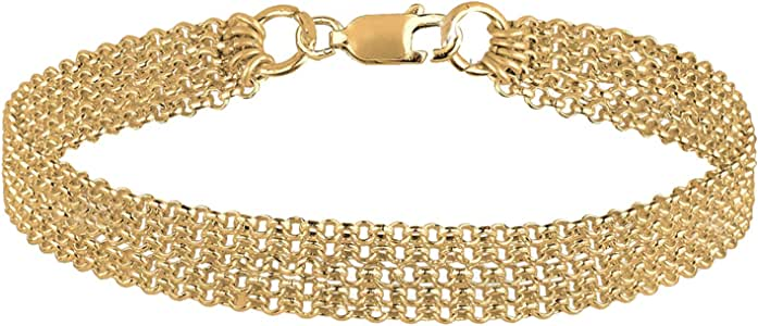 Elli Armband Damen Lagen Look Basic in 925 Sterling Silber