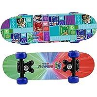 Joy Toy PJ Masks SUPERPIGIAMINI Mini-Skateboard in Legno, Multicolore, 1