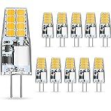 AMBOTHER G4 Ledlampen, 3 W, vervangt halogeenlampen van 35 W, warm wit, 12 V AC/DC ledlamp, 350 lumen, flikkert niet, niet di