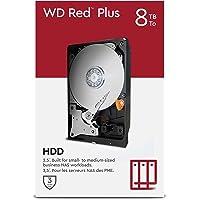 "WD Red Plus 8 TB NAS 3.5"" Interne Festplatte – 7200 RPM Class, SATA 6 Gbit/s, CMR, 256 MB Cache"