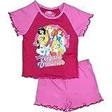 Disney Pijama de princesa oficial de verano de 12 meses a 10 años