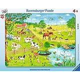 Ravensburger Rahmenpuzzle 06145 Spaziergang auf dem Land
