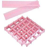 Uponer 20 pcs Diviseurs de Tiroirs DIY Organisateur de Tiroir Séparateur de tiroir Réglable grille tiroir diviseurs…