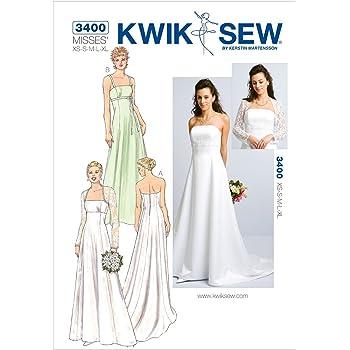 7296130d297d Burda 6776-Cartamodelli per abiti da sposa e sottogonna  Amazon.it ...