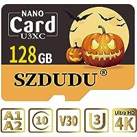 Micro SD Card U3 Class10 V30 3D NAND 4K HD Card / con adattatore SD gratuito / Adatto a tutti gli slot per Micro SD Card…