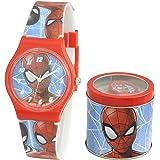 SKYLINE | Reloj Analógico para Niños | Reloj de Pulsera Infantil Ajustable | Reloj de Aprendizaje | con Caja de Aluminio para