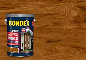 Lasure Haute Protection 8 Ans Bondex Châtaignier Satin 5l
