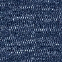 Pre-lavado tela de vaquera, denim para blusas/camisas (5,6 oz), azúl, por metro