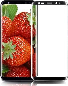Pellicola Protettiva Galaxy S8, innislink Vetro Temperato Galaxy S8 9H Durezza 3D Touch HD Trasparente Anti-graffio Pellicola Protezione Screen per Samsung Galaxy S8 - 1 Pezzi Nero