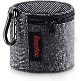 EasyAcc Étui Haut-Parleur Bluetooth Housse pour Anker Soundcore Mini /MS425/EasyAcc Mini/AUKEY 5.0/dodocool Mini Enceinte Étui Transport pour Sac Protection avec Mousqueton Gris Clair