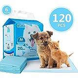 Nobleza - 120 pz Tappetini igienici per Cani, Misure 60 * 60cm, Tappetini assorbenti per Animali Domestici