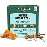 VAHDAM, té verde dulce de desintoxicación del Himalaya   30 bolsitas de té (juego de 2)   Té de desintoxicación 100% natural