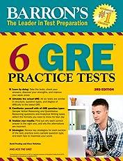 6 GRE Practice Tests (Barron's)
