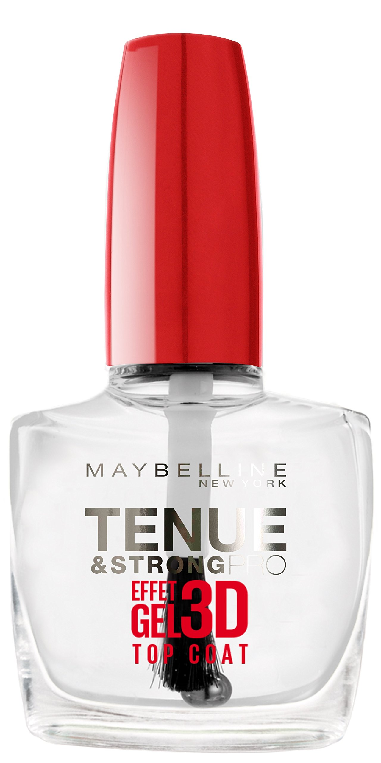 Maybelline SuperStay 7 Days 3D Gel Effect top coat esmalte de uñas Transparente – Top coat esmaltes de uñas…