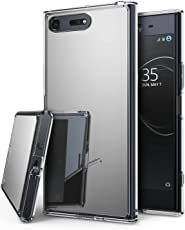 Ringke Bright Reflection Radiant Mirror Bumper Shock Absorption Technology Slim Protective Cover for Sony Xperia XZ (Silver, RMR-XZPRE-SV)