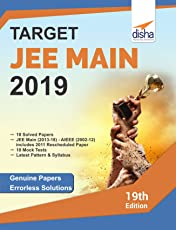 Target JEE Main 2019 (17 Solved Papers 2002-2018 + 10 Mock Tests)