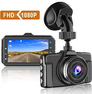 Chortau Dash Cam 1080p Fhd Car Dash Camera 3 Inch Elektronik