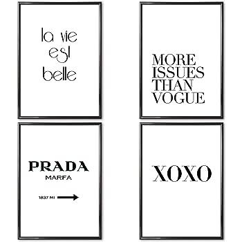 VERSCHIEDENE Poster Set 's » Paare « 4 x DIN A4 auch mit