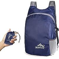 TSLBW Ultra Lightweight Foldable Backpack,Small Hiking Rucksack,Durable Lightweight Packable Backpack for Men Women,for…